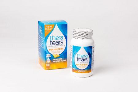 Thera Tears Nutrition,ett kosttillskott med Omega 3 & E-vitamin.