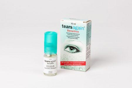 Tears again ögonspray motverkar torra ögon.