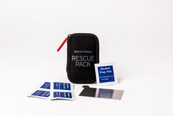 Rescue pack 5 x BIOTRUE endagslinser