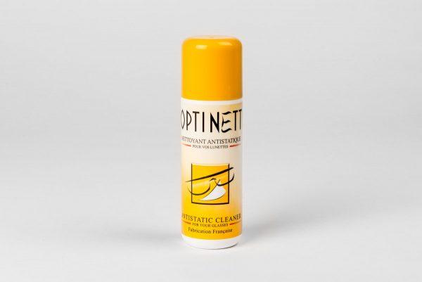 Optinett 120 ml - Antistatisk rengöringsspray för glasögon.
