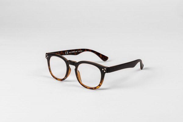 Bruna läsglasögon