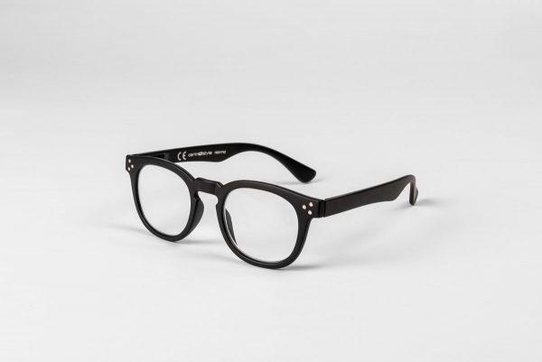 Svarta läsglasögon