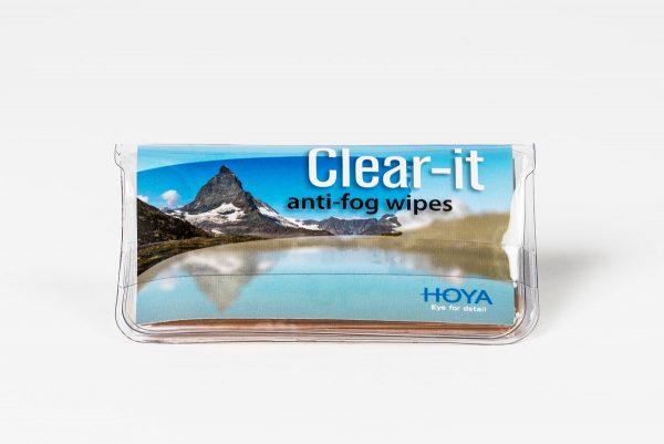 Putsduk för immfria glas